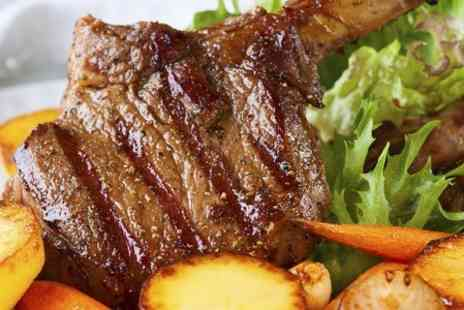The Punchbowl - Ribeye Steak Meal For Two - Save 34%