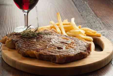 The Sea Trout Inn - Steak Meal With Wine For Two  - Save 47%