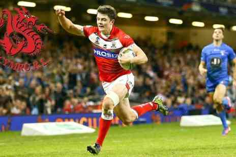 Wales Rugby League - Ticket  to Wales v Ireland Rugby League Match - Save 40%
