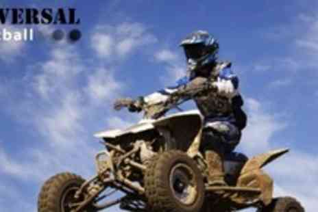 Universal Paintball - All Terrain Quad Biking Experience For Two People - Save 71%