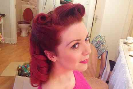 Pinups Vintage - Vintage Hair and Make Up Demo  or Styling With Refreshments  - Save 0%