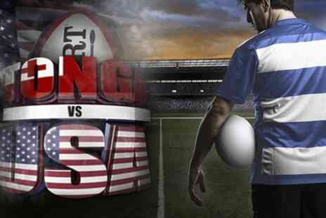 Gloucester Rugby - Tonga v USA Rugby Union Match - Save 0%