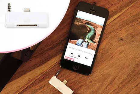Pin Adapter - 30 Pin to 8 Pin Adapter for iPhone  - Save 67%