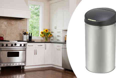 Ultimate Products - Beldray 42L Stainless Steel Sensor Bin - Save 53%