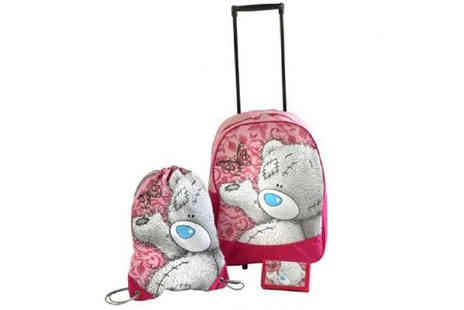 eCom Group - Me to You Tatty Teddy Luggage Set - Save 63%