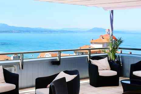 Radisson Blu Hotel - Overnight 4 Star Biarritz Stay with Upgrade & City Views - Save 52%