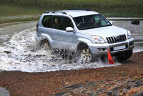 Motor Safari - 4X4 MAX Driving & Activity Experience for One - Save 57%
