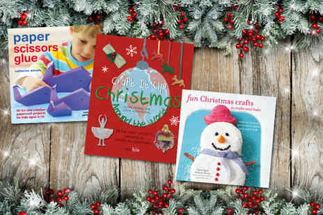 Ryland Peters and Small - Three piece Christmas activity book bundle - Save 47%