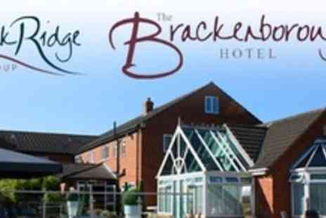 The Brackenborough Hotel - Three Night Stay With Dinner For Two - Save 73%
