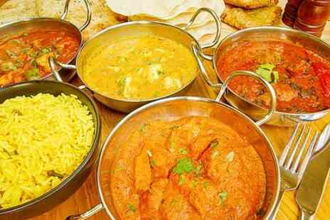 Zaiqa Buffet Restaurant - All You Can Eat Punjabi/Indian Dinner With Drinks For Two - Save 47%