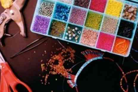 Bead & Button Bazaar - Beginners Jewellery Making Workshop - Save 60%