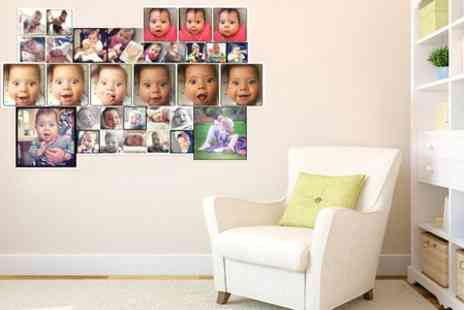 Printed Wardrobe - Personalised Photo Wall Vinyls - Save 50%