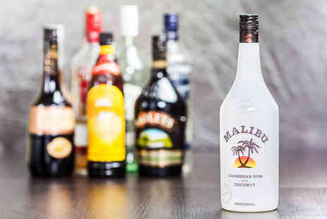 Temple Bar - Bottle of house Malibu or Peach Amore - Save 31%