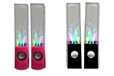 Internetshop - Dancing Water LED Fountain Speakers - Save 53%