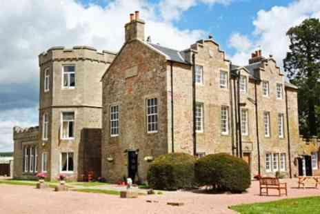 Shieldhill Castle Hotel -  Deluxe Castle Stay including Meals  - Save 57%