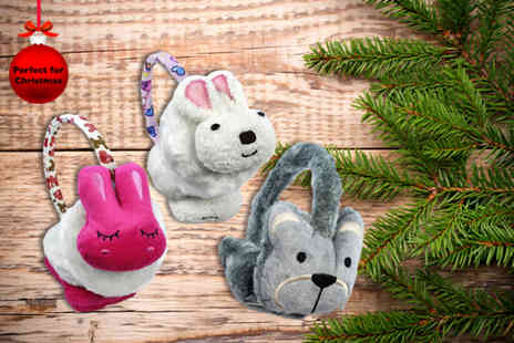 Shuperb Footwear - Pair of cute animal earmuffs - Save 75%