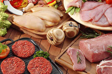 Hazeldines -  3kg Week of Meat hamper containing almost 3000g of steaks - Save 48%