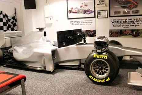 Stonerig Raceway - Formula One Simulator Experience For Two - Save 53%