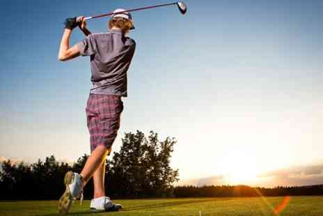 St Andrews Golf Co - Private PGA Golf Lesson and 18 Holes For One  - Save 58%