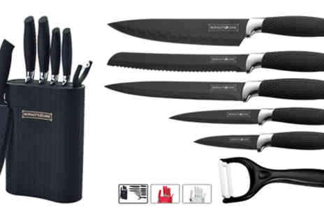 Dealquest - Six Piece Silicone Coating Knife Set - Save 76%