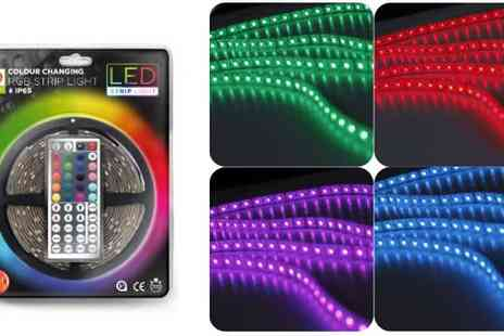 World of LEDs - 5M RGB Strip Light Kit - Save 40%