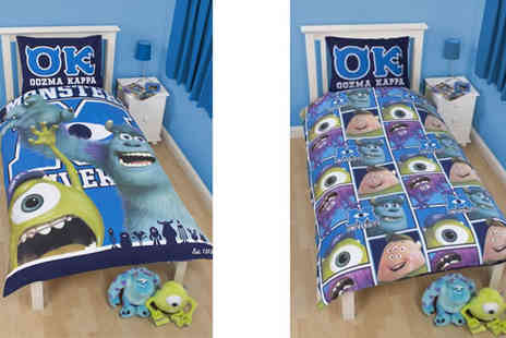 eCom Group - Monsters Inc University Single Reversible Duvet Cover - Save 67%