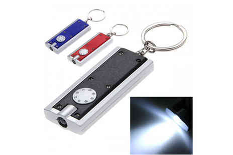 E accessories - 2 x LED Keychain Torch - Save 56%