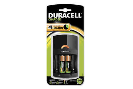 Battery Warehouse - Duracell Value Battery Charger - Save 50%