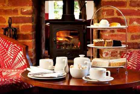 White Horse Hotel - Afternoon Tea & Bubbly for two - Save 49%