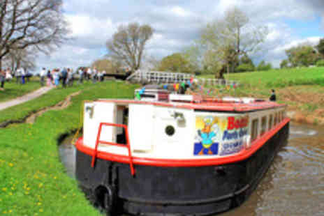 Boatel Party Cruises - 90 Minute Winter Warmer Canal Cruise with Mulled Wine and Mince Pies - Save 50%