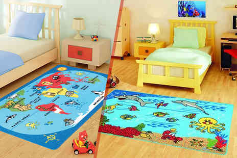 Serdim Rugs - Childrens rug in a choice of 6 designs - Save 58%