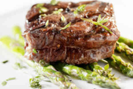 1573 Bar & Grill - Succulent Two Course Steak and Seafood Meal with Coffee - Save 40%