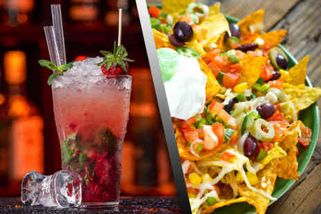 Rift & Co Walsall - Four cocktails and a platter of nachos to share between two - Save 62%