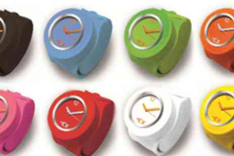 Tick Tok  - £5 for one original slap-on watch, £8 for two watches or £10 for three in a range of colours - Save 50%
