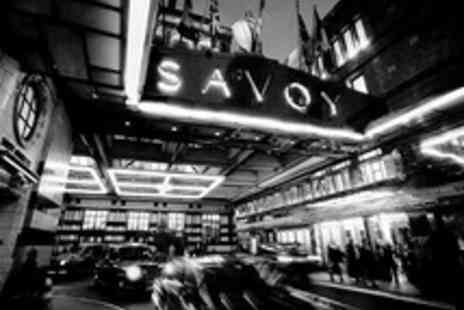 The Savoy - Festive Five Star Sunday Stay  with Three Course Dinner and Breakfast - Save 34%