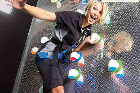 RockReef Adventure Activity Attraction - Clip N Climb Experience for One - Save 50%