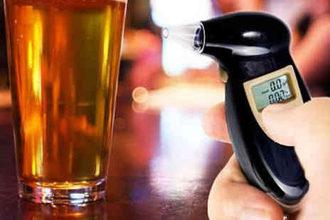 Digital Breath Alcohol Tester - Digital Breath Alcohol Tester - Save 77%