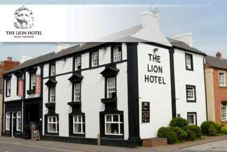 The Lion Hotel - Over night Stay for Two People, with Champagne Afternoon Tea and Breakfast -  Save 60%