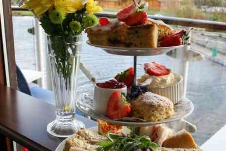 Riverview Cafe - Festive or Cheeseboard Afternoon Tea - Save 0%