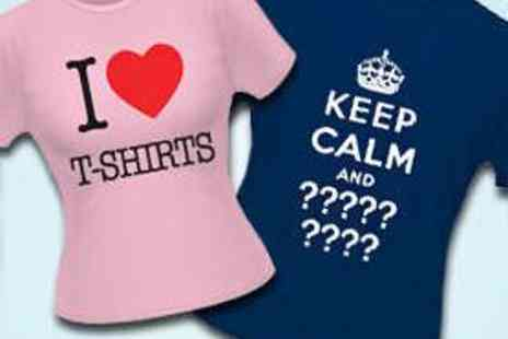 Print Me a Shirt - Personalised Printed T Shirt - Save 56%