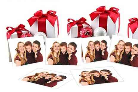 Kline Studios - Christmas Family Photoshoot For Up to 35 With Cards - Save 0%
