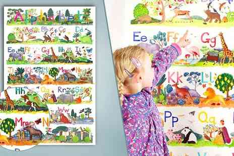 Really Giant Posters - Animal ABC Poster - Save 50%