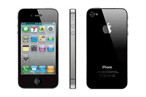 The Best Androids - Refurbished Apple iPhone 4 16GB or 32GB Unlocked - Save 56%