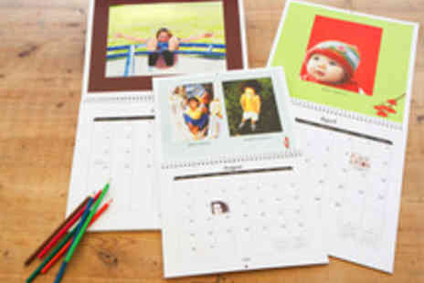 TRUPRINT - Personalised Classic Wall Calendars - Save 53%