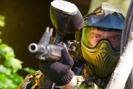 Battlefield Paintball - Target or Battlefield Kids Party With Lunch  - Save 85%