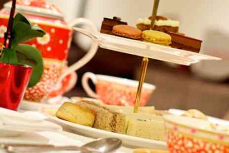 Thistle Marble Arch - Four Star  Winter Afternoon Tea For Two with Mulled Wine  - Save 54%
