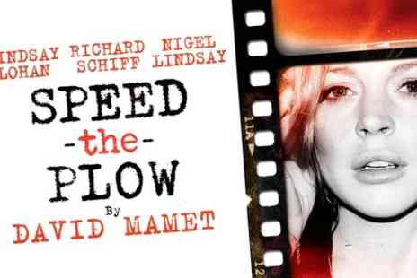 West End Show - Ticket to  Speed The Plow Show  With Lindsay Lohan  - Save 50%