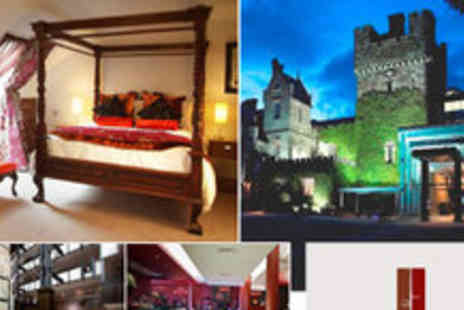 Clontarf Castle Hotel - Overnight Stay for 2 in a Deluxe Room plus an Evening Meal - Save 52%