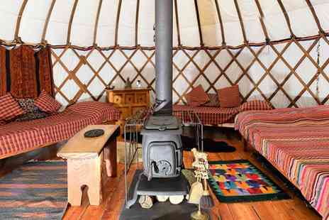 Larkhill Tipis and Yurts - Two nights in a Bentwood Yurt of Mongolian Ger with a late check out - Save 40%