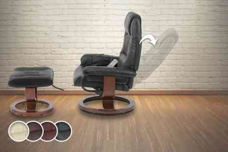 Grampian Furnishers - Napoli massage recliner chair - Save 52%